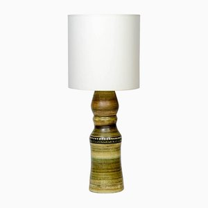 Tall French Ceramic Table Lamp, 1960s