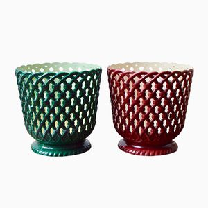 Plant Pots from Syla, 1950s, Set of 2