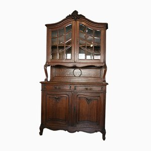 Antique Belgian Baroque Style Buffet