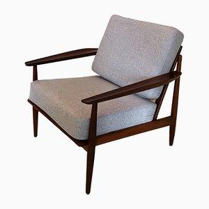 Mid-Century Afromosia Sessel von Arne Vodder für Gløstrup, 1960er