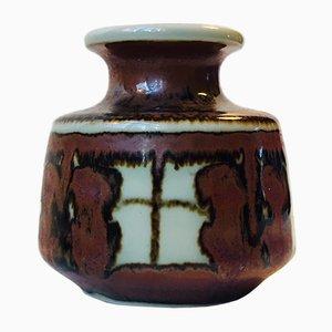 Dänische Keramik Vase von Noomi Backhausen für Søholm, 1960er