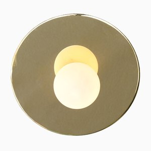 Lampada da soffitto o parete Disc & Sphere di Atelier Areti