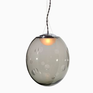Kaline Pendant Lamp in Grey by Atelier Areti