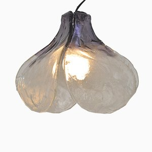 Mid-Century Petal-Shaped Pendant by Carlo Nason for Mazzega
