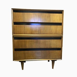 Mid-Century Slant Fronted Dresser from Meredew
