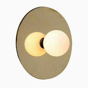 Disc and Sphere Ceiling or Wall Light by Atelier Areti