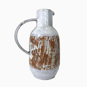 Französischer Keramik Krug von Les Argonautes, 1960er