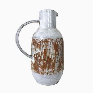French Ceramic Pitcher by Les Argonautes, 1960s