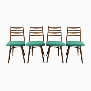 Dining Chairs from Interier Praha, 1967, Set of 4