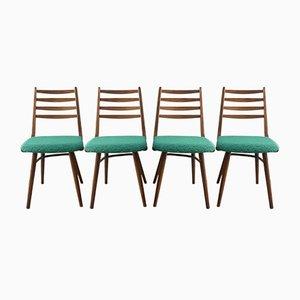Esszimmerstühle von Interier Praha, 1967, 4er Set