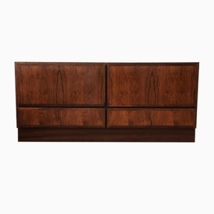 Mid-Century Danish Rosewood Chest of Drawers from Omann Jun