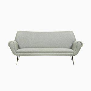 Sofá de tres plazas italiano de Gigi Radice para Galotti & Radice, años 60
