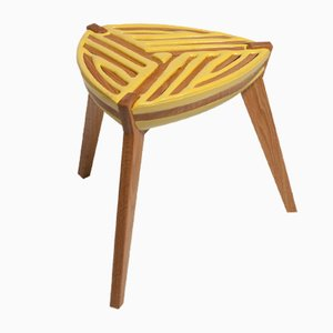 75% Control Triangle Stool by Dafi Reis Doron