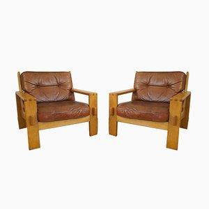 Bonanza Armchairs by Esko Pajamies for Asko, 1960s, Set of 2