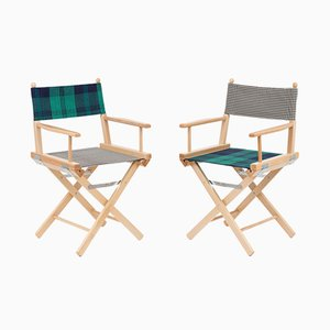 Sillas de director de cine #1 & #2 de Rossana Orlandi & Telami