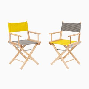 Director's Chairs #5 and #6 by Telami & Rossana Orlandi