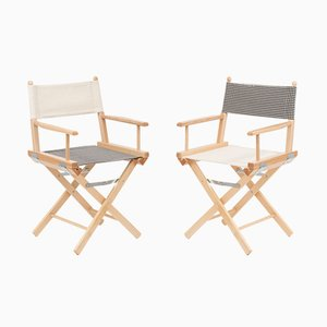 Director's Chairs #7 and #8 by Telami & Rossana Orlandi