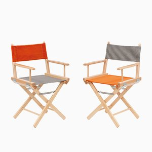 Director's Chairs #9 and #10 by Telami & Rossana Orlandi