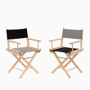 Director's Chairs #11 and #12 by Telami & Rossana Orlandi