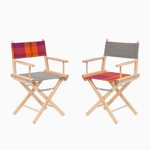 Director's Chairs #15 and #16 by Telami & Rossana Orlandi