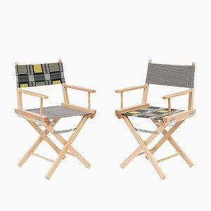 Director's Chairs #17 and #18 by Telami & Rossana Orlandi