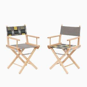 Director's Chairs #17 und #18 von Telami & Rossana Orlandi