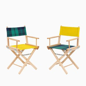 Director's Chairs #19 and #20 by Telami & Rossana Orlandi