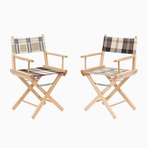 Director's Chairs #21 and #22 by Telami & Rossana Orlandi