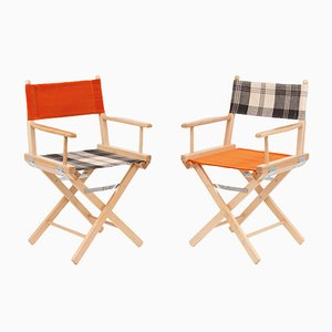 Director's Chairs #25 and #26 by Telami & Rossana Orlandi