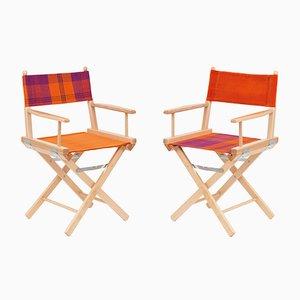 Sillas de director de cine #27 y #28 de Telami & Rossana Orlandi