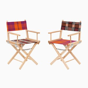 Director's Chairs #35 and #36 by Telami & Rossana Orlandi