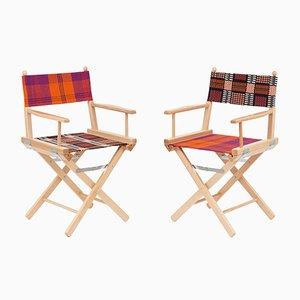 Director's Chairs #35 und #36 von Telami & Rossana Orlandi