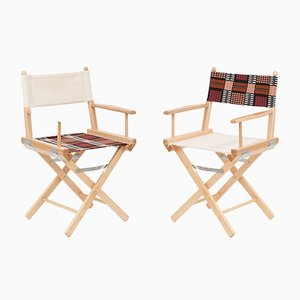 Director's Chairs #37 and #38 by Telami & Rossana Orlandi