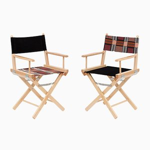 Director's Chairs #39 and #40 by Telami & Rossana Orlandi
