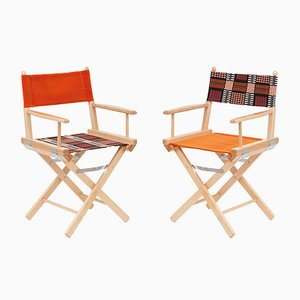 Director's Chairs #41 and #42 by Telami & Rossana Orlandi