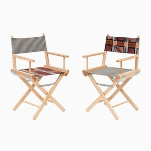 Director's Chairs #43 and #44 by Telami & Rossana Orlandi