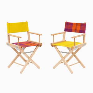 Director's Chairs #45 and #46 by Telami & Rossana Orlandi