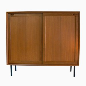 Danish Teak Highboard by H. W. Klein for Bramin, 1970s