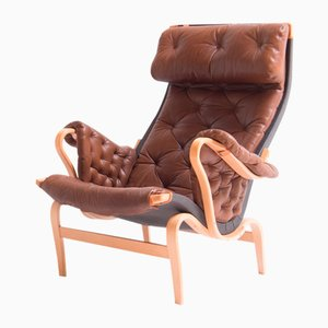 Vintage Pernilla 69 Lounge Chair by Bruno Mathsson for Dux