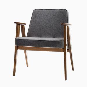 Vintage Model 366 Armchair by Józef Chierowski for Dolnośląska Furniture Factory