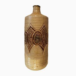 Keramik Flasche von Marcel Giraud, 1950er