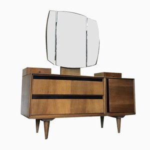 Mid-Century Slant Fronted Dressing Table from Meredew
