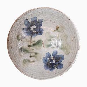 Keramik Teller von Albert Thiry, 1950er