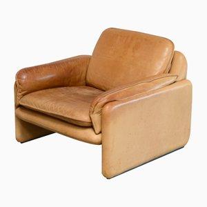 Vintage DS 61 Sessel in cognavfarbenem Leder von de Sede
