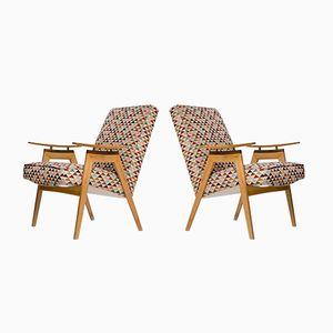 Lounge Chairs by Jaroslav Smidek for Jitona, 1960s, Set of 2