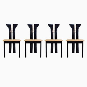 Side Chairs by Tobia & Afra Scarpa, 1970s, Set of 4