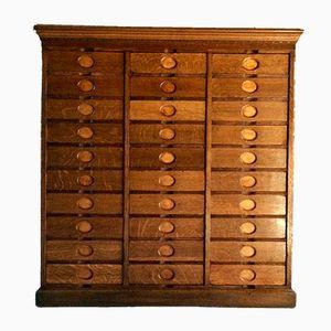 Haberdashery Oak Cabinet from Amberg, 1909