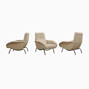 Italienische Mid-Century Sessel von Erberto Carboni, 3er Set
