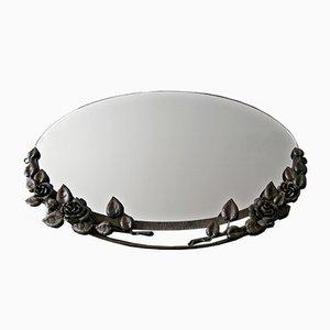 Art Deco Schmiedeeisen Spiegel, 1930er