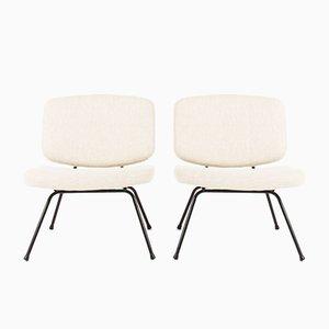 CM190 Stühle von Pierre Paulin für Thonet, 1950er, 2er Set